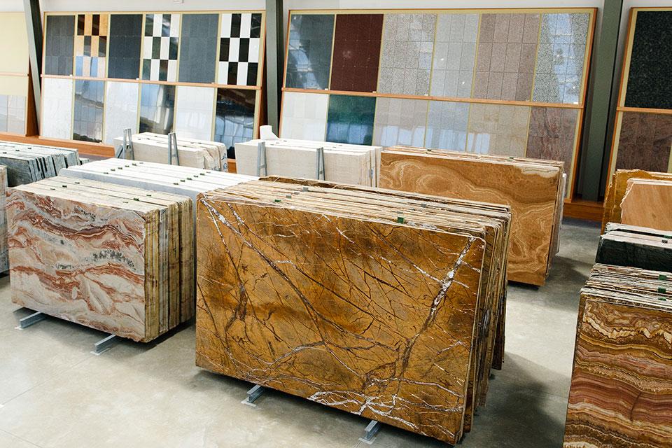 Showroom marble